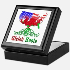 American Welsh Roots Keepsake Box