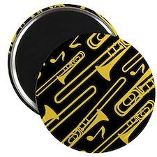 Music Trombone Gift Magnet