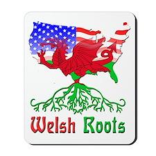 American Welsh Roots Mousepad