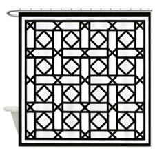 Lattice #2 Shower Curtain