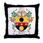 Merrick Coat of Arms Throw Pillow