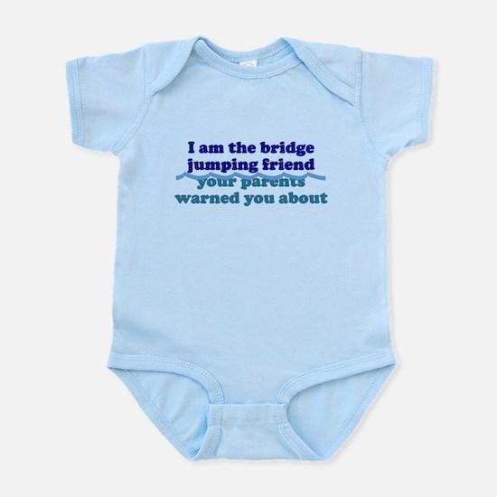Bridge Jumping Friend Infant Bodysuit