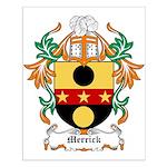 Merrick Coat of Arms Small Poster