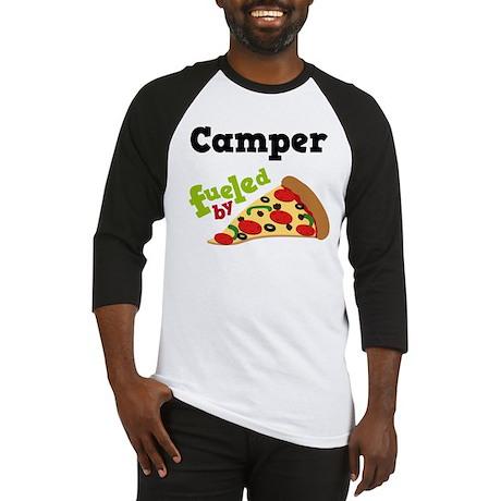 Camper Funny Pizza Baseball Jersey