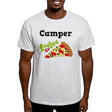 Camper Funny Pizza T-Shirt