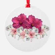 Hibiscus Arrangement Ornament