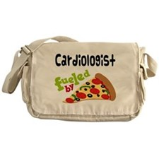 Cardiologist Funny Pizza Messenger Bag