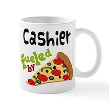 Cashier Funny Pizza Mug