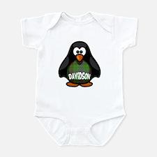Davidson Tartan Penguin Infant Bodysuit