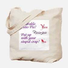 Adorable Cutie-Pie Tote Bag