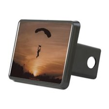 Sunset Skydiver Hitch Cover