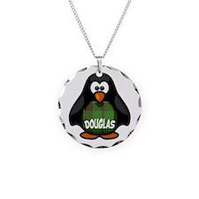 Douglas Tartan Penguin Necklace