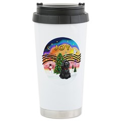 XMusic2-Black Cocker Travel Mug