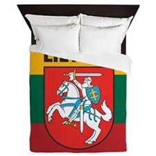 Lithuania Queen Duvet