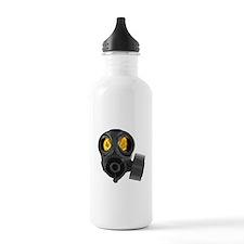 Gasmask disaster Water Bottle
