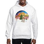 XMusic2-Cocker Spaniel (buff) Hooded Sweatshirt