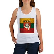 Vintage Lithuania Women's Tank Top