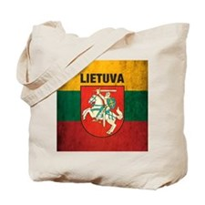 Vintage Lithuania Tote Bag
