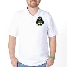 Duncan Tartan Penguin T-Shirt