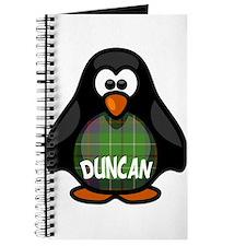 Duncan Tartan Penguin Journal