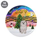 """XMusic 2 - Havanese (F) 3.5"""" Button (10 pack)"""