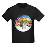 XMusic 2 - Havanese (F) Kids Dark T-Shirt