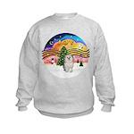 XMusic 2 - Havanese (F) Kids Sweatshirt