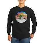 XMusic 2 - Havanese (F) Long Sleeve Dark T-Shirt