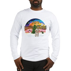 XMusic2-Havanese Pup Long Sleeve T-Shirt