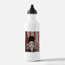 oriental red Water Bottle