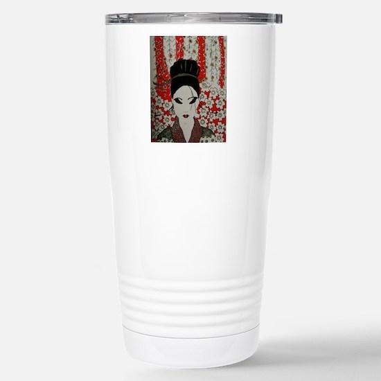 oriental red Stainless Steel Travel Mug