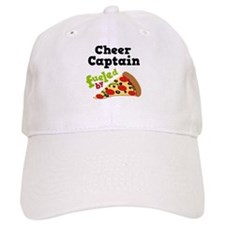 Cheer Baseball Captain Funny Pizza Baseball Cap