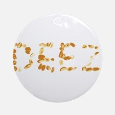 DEEZ Nuts Ornament (Round)