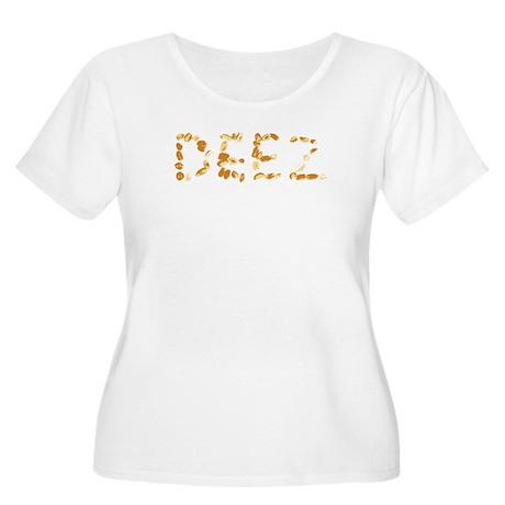 DEEZ Nuts Women's Plus Size Scoop Neck T-Shirt
