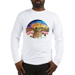 XMusic2-Two Goldens Long Sleeve T-Shirt