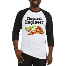 Chemical Engineer Funny Pizza Baseball Jersey
