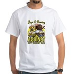 Dogs and Donkey White T-Shirt
