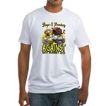 Dogs and Donkey Fitted T-Shirt