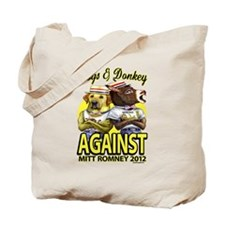 Dogs and Donkey Tote Bag