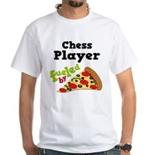 Chess Player Funny Pizza Shirt