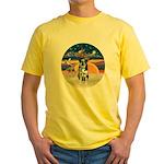 XAngel-Catahoula Leop. Yellow T-Shirt
