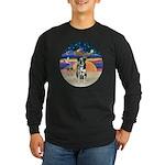 XAngel-Catahoula Leop. Long Sleeve Dark T-Shirt