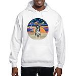 XAngel-Catahoula Leop. Hooded Sweatshirt