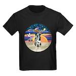 XAngel-Catahoula Leop. Kids Dark T-Shirt