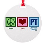 Physical therapy Round Ornament