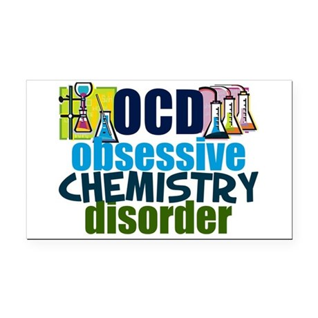Funny Chemistry Rectangle Car Magnet