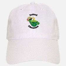 Retired Librarian turtle Baseball Baseball Cap