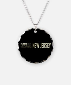 Black Flag: New Jersey Necklace
