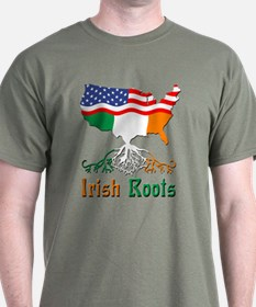 American Irish Roots T-Shirt