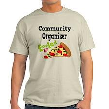 Community Organizer Funny Pizza T-Shirt
